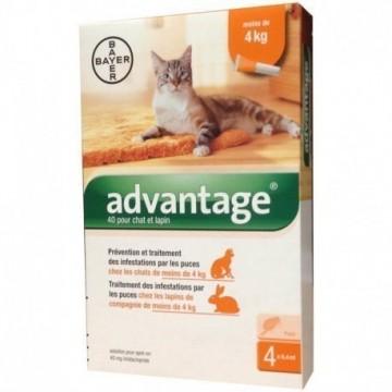 ADVANTAGE 4PIP 0,4ML SPOT-ON