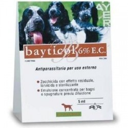 BAYTICOL 6%E.C. FL VETRO 5ML