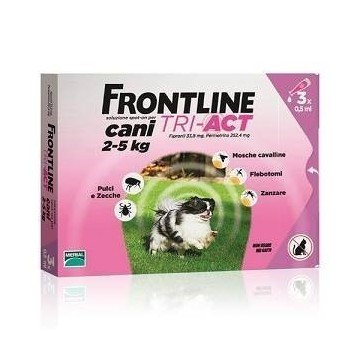 FRONTLINE TRI-ACT 3PIP 0,5ML Scad. 30/09/2017