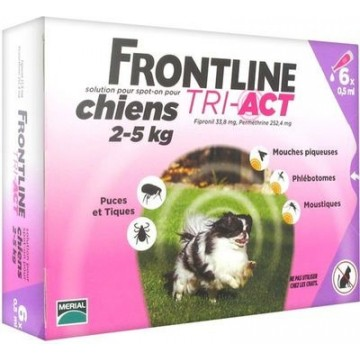 FRONTLINE TRI-ACT 6PIP 0,5ML