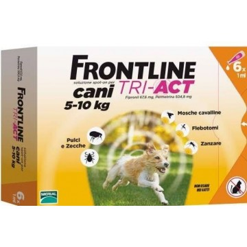 FRONTLINE TRI-ACT 6PIP 1ML